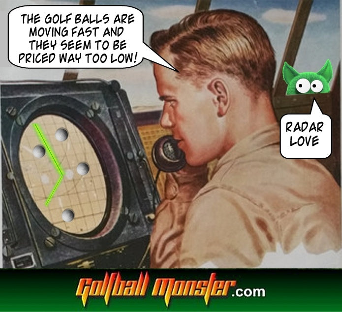 Golf Ball Radar Love