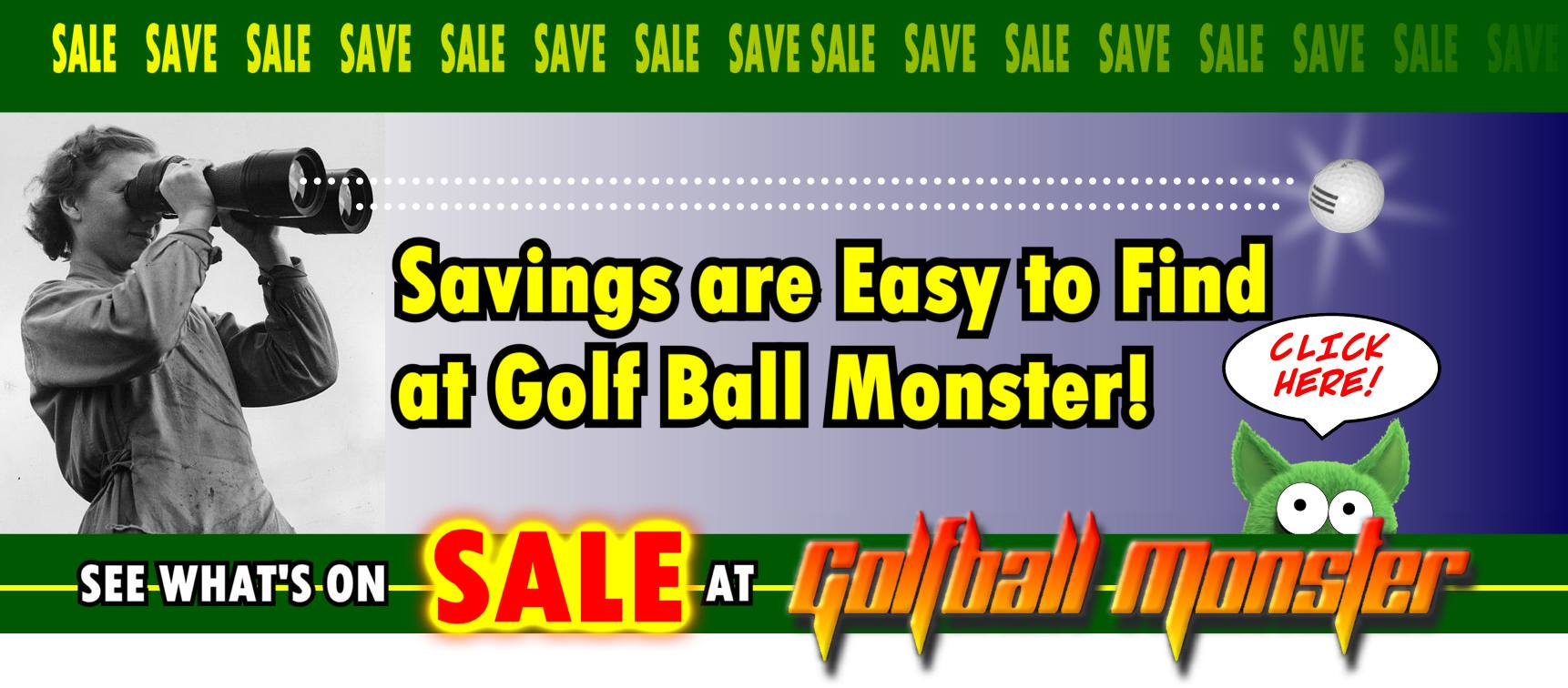 Sale Golf Balls On Sale at Golfball Monster