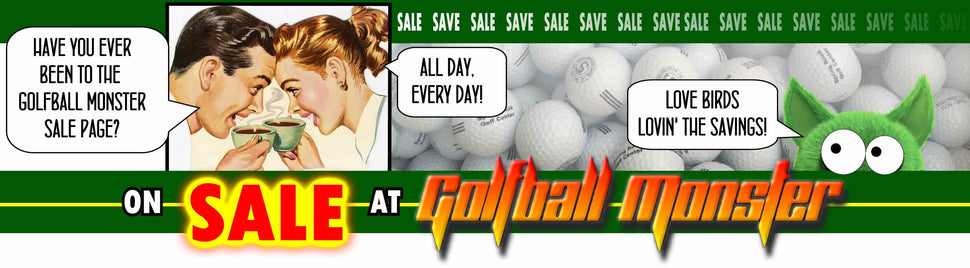 Sale at Golfball Monster