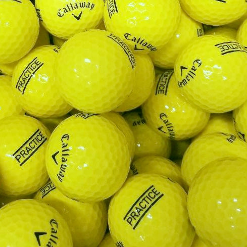 Callaway Practice Yellow A Grade Used Golf Balls from Golfball Monster (6578952896594)