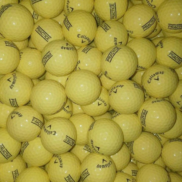 Callaway Yellow Used Golf Balls A-B Grade