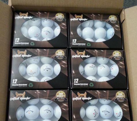 FULL  CASE ONLY:  Callaway 12 Ball Boxed Sets - Mint Grade - Golf Ball Factory Outlet
