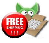 Shipping is FREE from the Golfball Monster