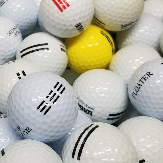Mix Range Floaters Various Color ABC Grade Used Golf Balls | Single Lot of 1060 (4946991415378)