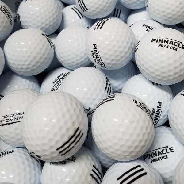 Pinnacle Black A-B Grade used  Golf Balls (4630462595154)