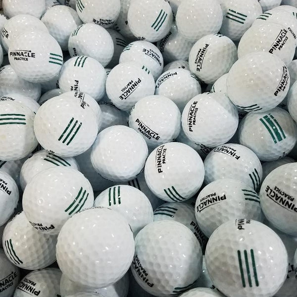 Pinnacle Green Practice Used Golf Balls A-B Grade (4513387216978)