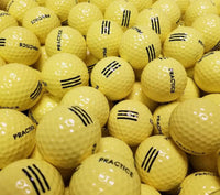 Pinnacle Practice Yellow BRAND NEW Golf Balls (4535347576914)