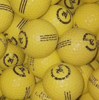 Practice LOGO Yellow Used Golf Balls B Grade (4474750042194)