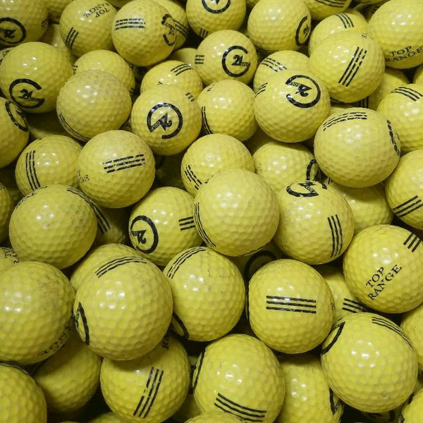 Range Yellow Logo Used Golf Balls B-C Grade (4620436045906)
