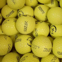 Yellow Logo Used Golf Balls C-D Grade (4629644148818)