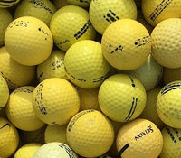 Range Practice Yellow Used Golf Balls D Grade