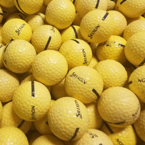 Srixon Yellow Limited Flight Used Golf Balls B-C Grade