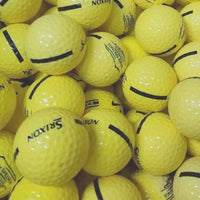 Srixon Yellow Logo Used Golf Balls A-B Grade (4785168580690)