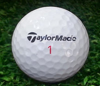 TaylorMade TP Red Golf Balls Refurbished Refinished (4467718848594)