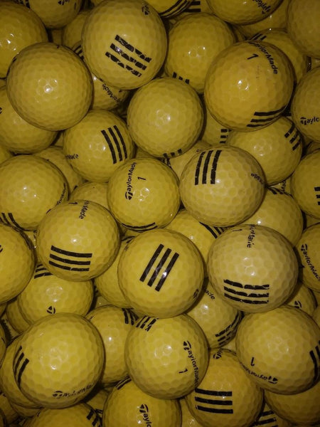 TaylorMade Yellow Used Range Golf Balls A-B Grade (4463683502162)