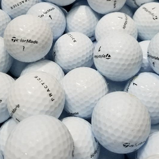 Taylormade No Stripe Used Golf Balls B-A Grade (6604407996498) (6604409602130) (6604409667666)