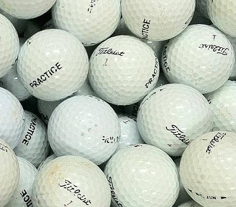 Titleist NXT Tour Practice Used Golf Balls C Grade