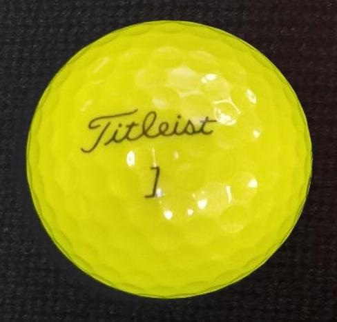 Titleist Pro V 2019 - 2020 Yellow Used Golf Balls Mint Grade (4508681633874)