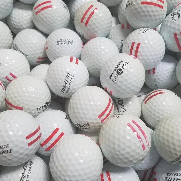 Top Flight Practice Used Golf Balls A-B Grade