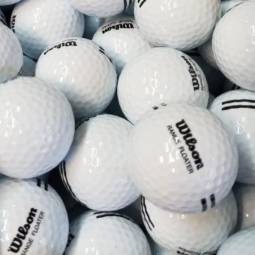 Wilson Range Floaters BRAND NEW Golf Balls | One Lot of 577 (4847513600082)