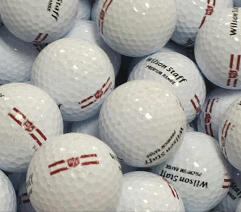 Wilson Red Range Used Golf Balls A-B Grade