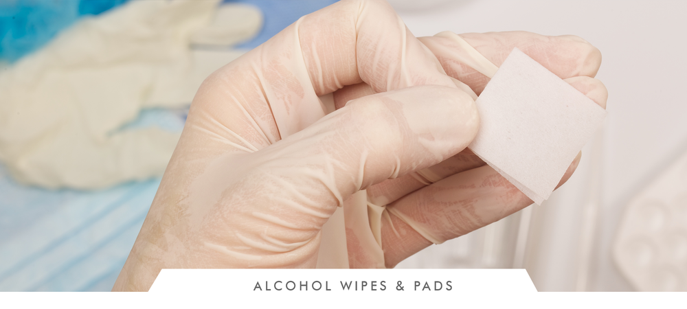 Alcohol Wipes & Pads