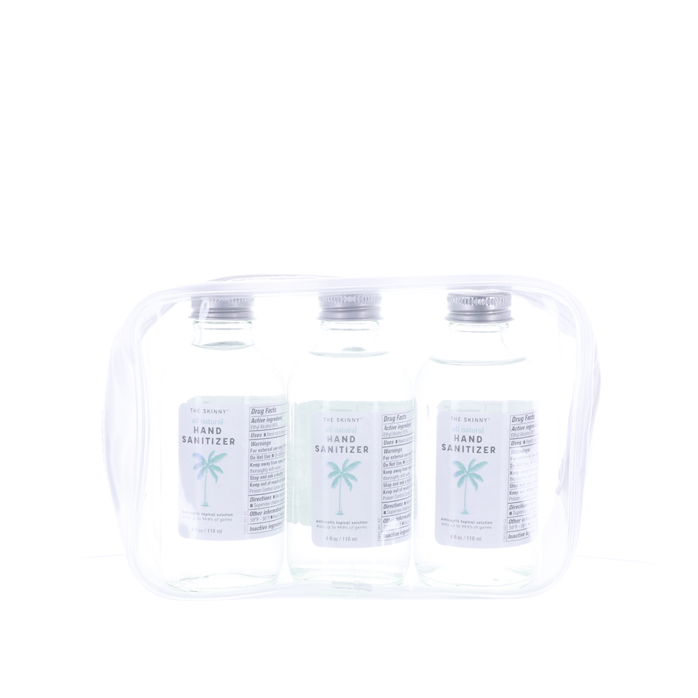 The Skinny All Natural Hand Sanitizer 3pk. - 4 fl oz.