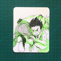 "<b><font color=""red"">[SOLD] </font></b> Hunter x Hunter Sketchcard"