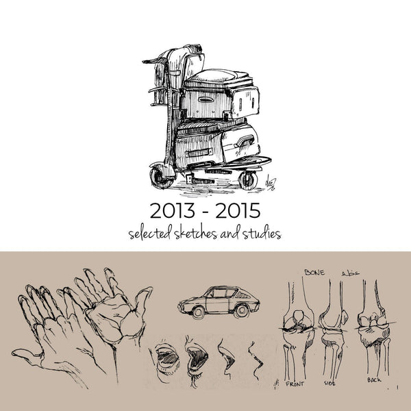 Random Studies and Sketches 2013-2015