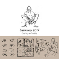 January 2017 Sketchbook