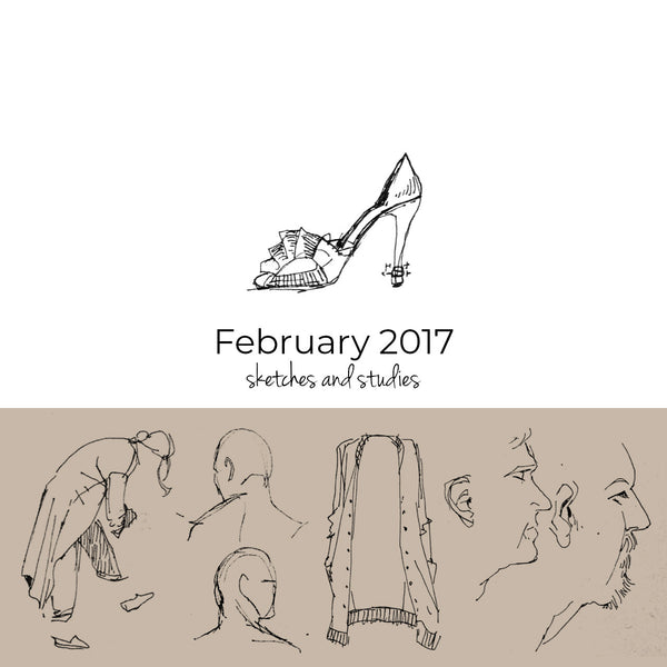 February 2017 sketchbook