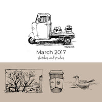 March 2017 Sketchbook