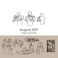August 2017 Sketchbook