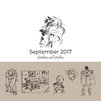 September 2017 Sketchbook