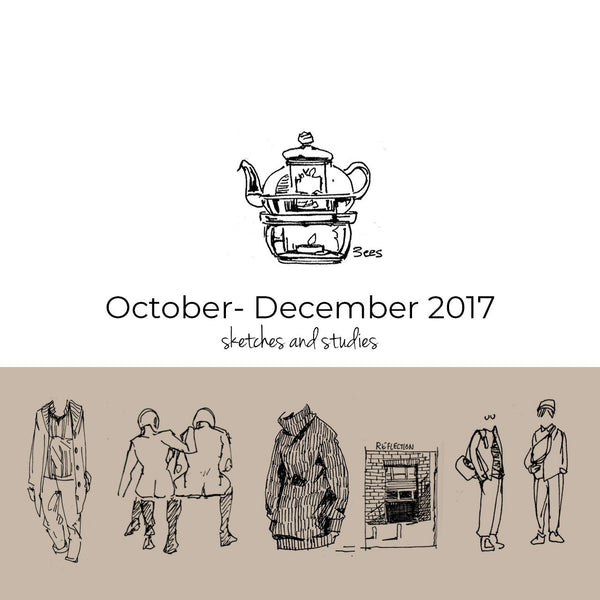 Oct – Dec 2017 Sketchbook