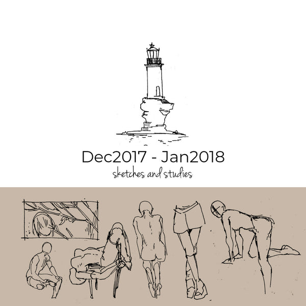 Dec 2017- Jan2018 Sketchbook