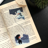 Transparent Bookmarks || Separated Friends