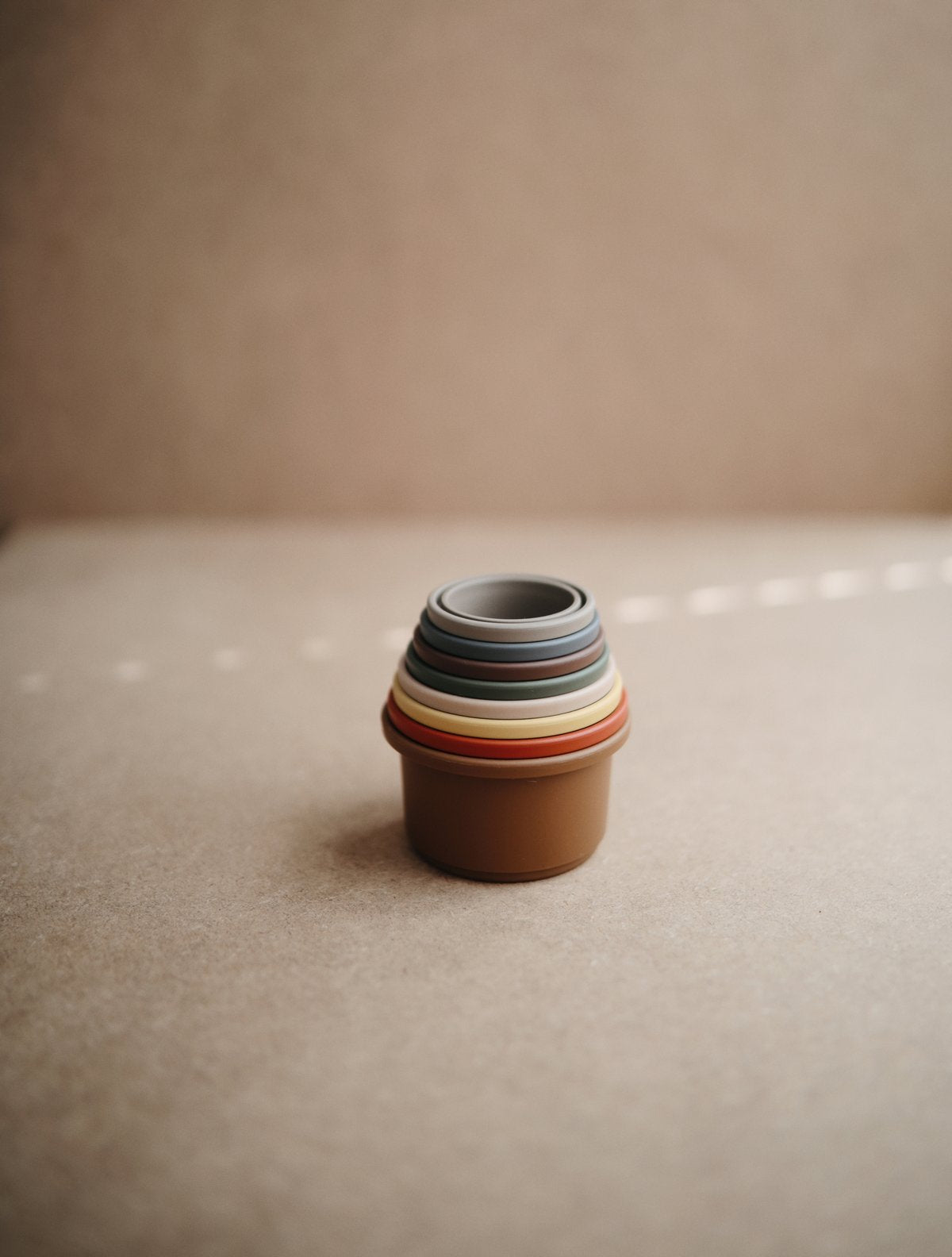 mushie Stacking Cups - Retro