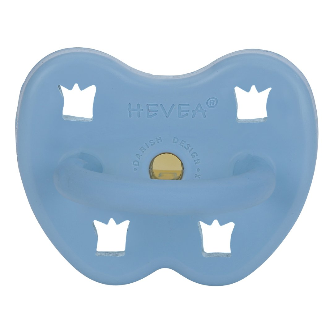 Hevea Pacifier - Sky Blue - Orthodontic