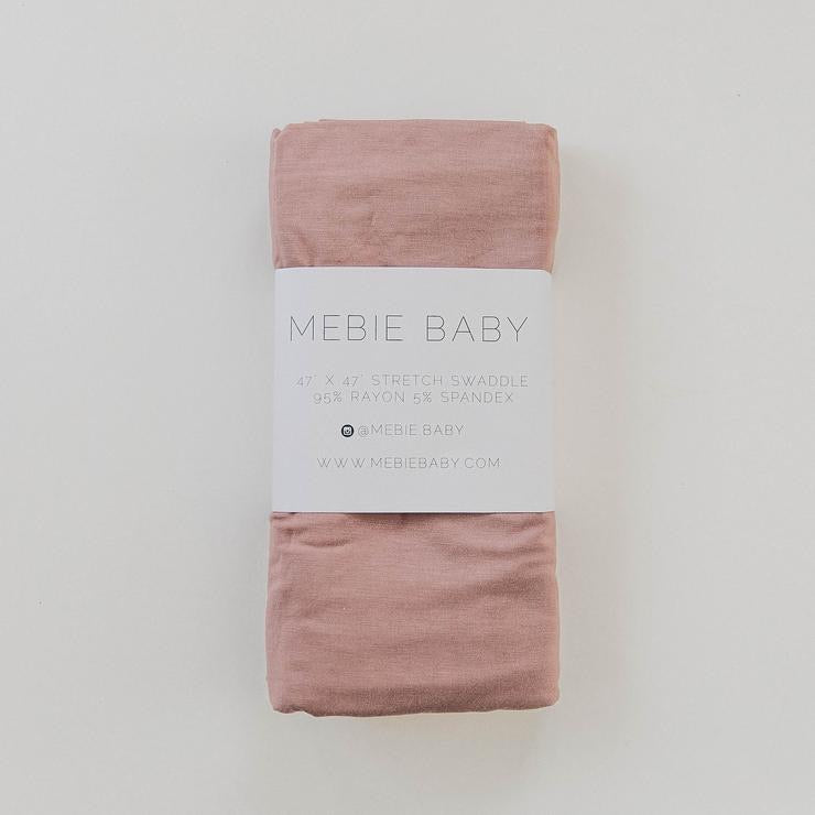 Stretch Swaddle - Dusty Rose (4615554531415)