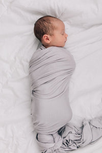 Stretch Swaddle - Stone Grey