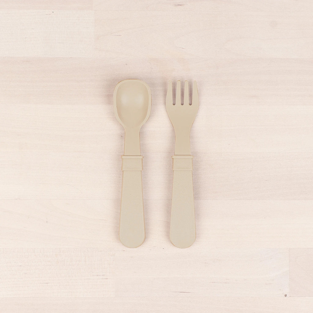 Toddler Utensils - Sand (4671226773591)