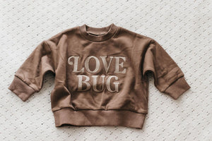 Love Bug Jumper - Mocha