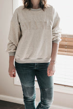 Load image into Gallery viewer, Mama Jumper - Grey Marle