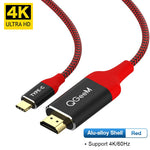 USB-C to HDMI Premium Braided Cable - 4k 60hz
