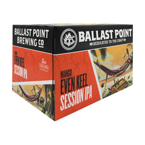 Ballast Point Mango Even Keel 6pk 12oz Cans - Nestor Liquor