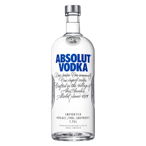 Absolut Vodka 1.75L - Nestor Liquor