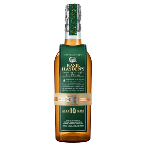 Basil Hayden 10 Years Kentucky Straight Rye - Nestor Liquor