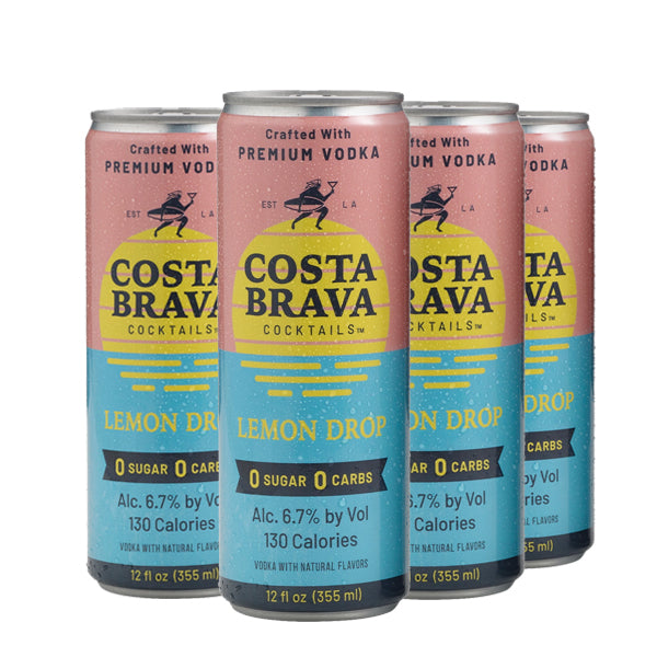Costa Brava Lemon Drop Cocktails 4-pack - Nestor Liquor