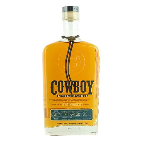 Cowboy Little Barrel Rye Whiskey - Nestor Liquor